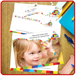 Stationery with Leaflets