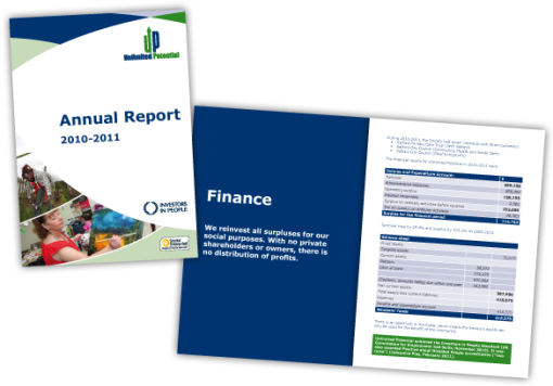 UP Annual Report 2011