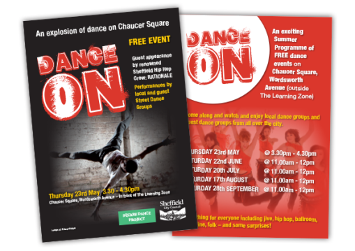 DanceOn Flyer