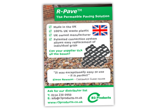 R3 Products R-Pave-Advert