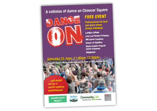 DanceOn Flyer Event 2