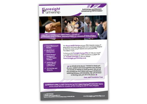 Foresight Partnership Advert