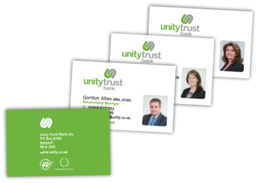 Unity-Trust-Business Cards